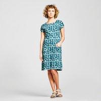 Weird Fish Women's Tallahasse Dress, Green/GR
