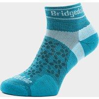 Bridgedale Women's Ultra Light T2 Merino Sport Low Socks, Blue