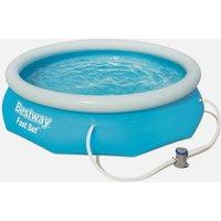 Bestway 10ft Fast Set Round Pool, Blue