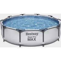 Bestway 10ft Steel Pro Max Round Pool, White