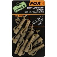 Fox Edges Slik Lead Clip Sz 10 Khaki