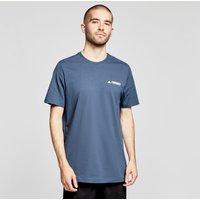 adidas Men's Rocklogo Short-sleeve Tee, Navy