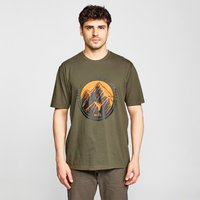 Peter Storm Mens Great Outdoors T-Shirt, Khaki
