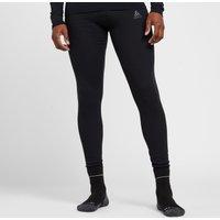 Odlo Men's Active Warm Eco Long Baselayer Bottoms, BLACK/BLACK