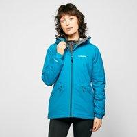 Berghaus Womens Stormcloud Insulated Waterproof Jacket  Blue