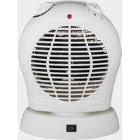 Quest Bahama Oscillating Fan, White