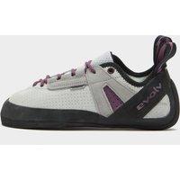 EVOLV Women's Elektra Lace Climbing Shoe, Grey/Pink