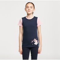 Battles Kids' Little Unicorn T-Shirt, Navy/PNK