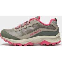 Merrell Kids' Moab Speed Waterproof Shoe, Grey