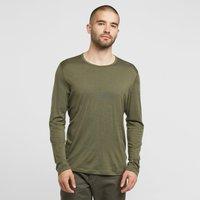 Icebreaker Men's Merino 200 Oasis Long Sleeve Thermal Top, Green