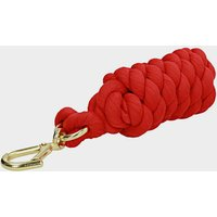 Shires Plain Leadrope  Red