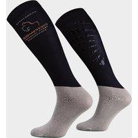 COMODO Kids' Silicone Grip Socks, Navy
