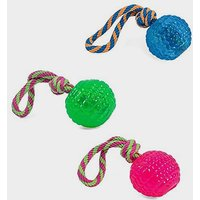 Petface Toyz Rope Bouncy Ball