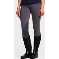 DUBLIN Women's Performance Flex Knee Patch Riding Tights, Grey