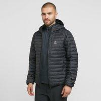 Haglofs Men's Essens Mimic Hooded Jacket, Black