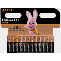 Duracell AAA Plus Batteries (4 pack), Black/Orange