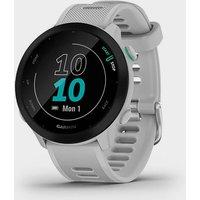 Garmin Forerunner 55 GPS Running Smartwatch, White