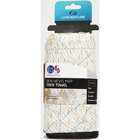 Lifeventure Giant Towel (Ben Nevis OS Map Print), Multi