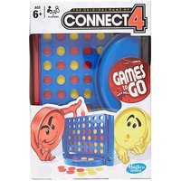 HASBRO Travel Monopoly Card Game, CONNECT4/CONNECT4