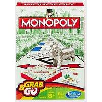 HASBRO Travel Monopoly Card Game, WHITE