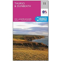 Ordnance Survey Landranger 11 Thurso & Dunbeath Map With Digital Version, D/D