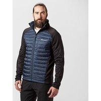 Technicals Men's Rush Hybrid Jacket, Navy/Black