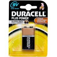 DURACELL Plus Power MN1604 9V Battery, N/A/B1