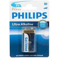 Phillips Ultra Alkaline 9V 6LR61 Battery
