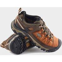 KEEN EUROPE Men's Targhee III Waterproof Hiking Shoes, Brown