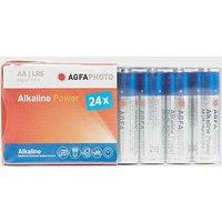 AGFA Alkaline Power AA Batteries 24 Pack, N/A