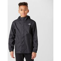 'The North Face Kids' Resolve Waterproof Jacket - Black, Black