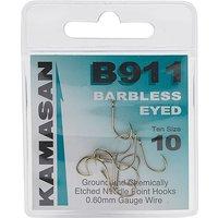 Kamasan B911 Extra Strong Eyed Fishing Hooks - Size 10, CLEAR