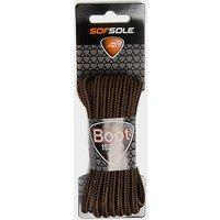 Sof Sole Wax Boot Laces - 152cm, BNBK/BNBK