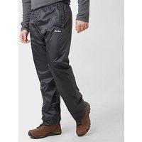 Peter Storm Mens Packable Pants, BLK/BLK