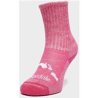 Bridgedale Kids' WoolFusion Trekker Socks, PNK/PNK