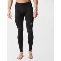 Odlo Men's SUW Performance Warm Pants, BLK/BLK