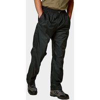Craghoppers Mens Asent Waterproof Overtrousers - Black/Blk, Black/BLK