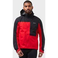 GORE Men's C3 GORE-TEX Paclite Hooded Waterproof, RED/RED