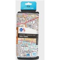 Lifeventure SoftFibre Ordnance Survey Travel Towel, LONDON/LONDON