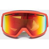 SMITH Men's Range Ski Goggles, RED/RED