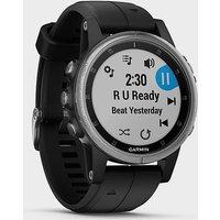 Garmin Fenix® 5S Plus Multi-Sport Gps Watch - Slv/Blk/Slv/Blk, SLV/BLK/SLV/BLK
