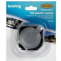 RING 12S 7 Pin Plastic Socket (A0028), MULTI/MULTI