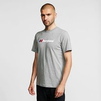 Berghaus Corporate Logo T-Shirt, Grey/White