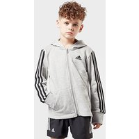 adidas kids' Must-Haves 3-Stripes Full-Zip Jacket, MGY/MGY