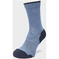 Brasher Women's Light Hiker Socks, BLU/BLU