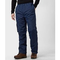 Peter Storm Mens Storm Waterproof Trousers, NVY/NVY