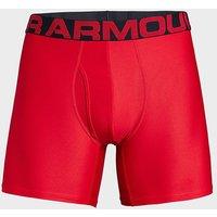 Under Armour Men's UA Tech Mesh 15cm Boxerjock 2 Pack, BRD/BRD