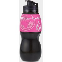 WATER-TO-GO Filtered Water Bottle 750ml, WHITE/WHITE
