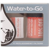 WATER-TO-GO Replacement Filters x 2, FILTER/FILTER