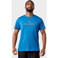 Craghoppers Men's Calvino Short Sleeve T-Shirt, MBL/MBL